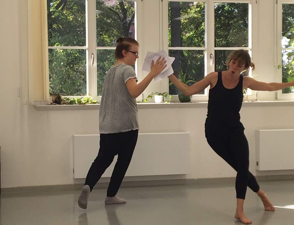 Mikroprojekt: Tanz in der Dunkelheit