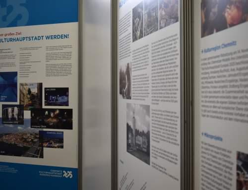 Pop-up-Ausstellung zur Kulturhauptstadt