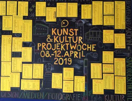 Projektwoche am Chemnitzer Schulmodell